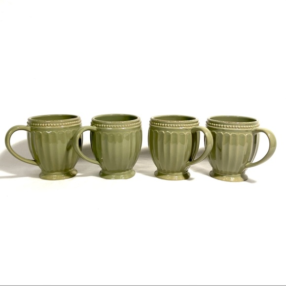 Lenox French Perle Mugs